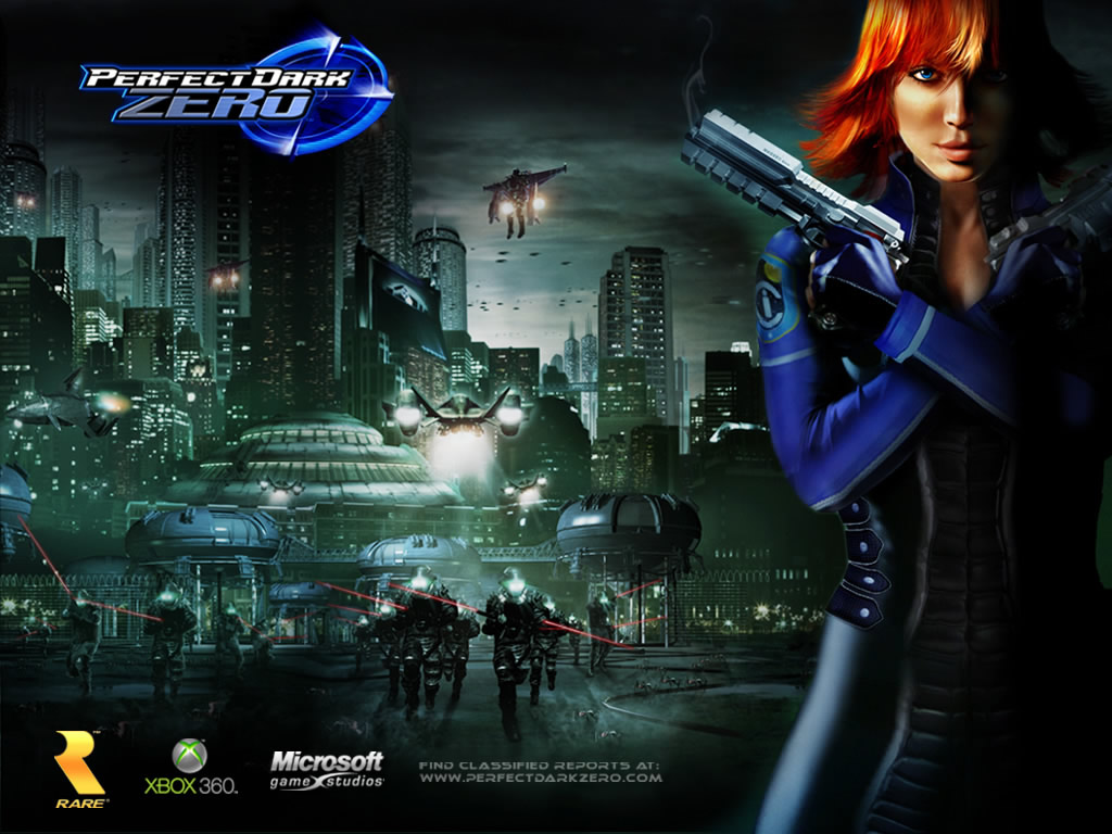 Official Desktop Wallpaper Perfect Dark Zero Perfect